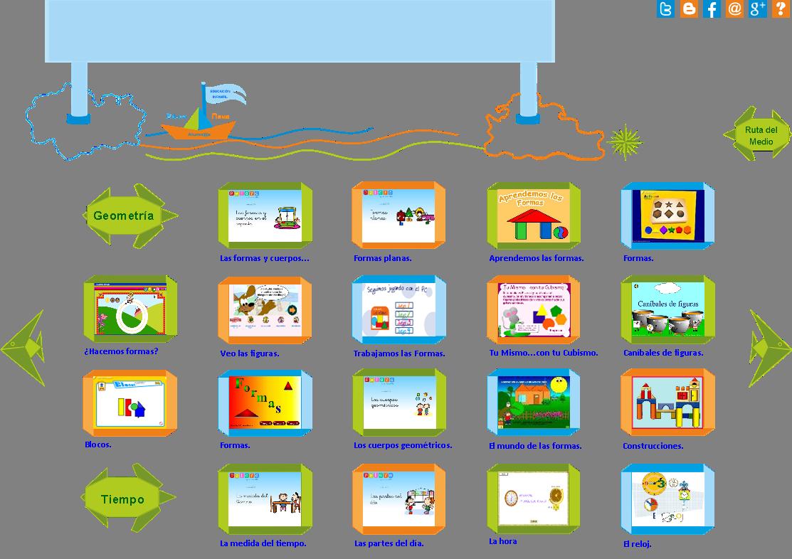 Las Formas Geométricas y el Tiempo en Educación Infantil