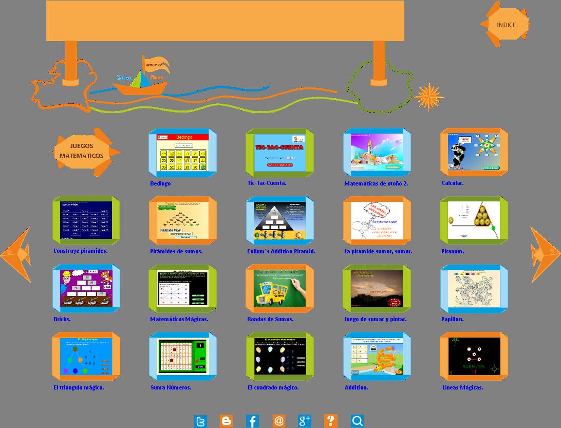 Juegos Matematicos Para Sumar Educanave